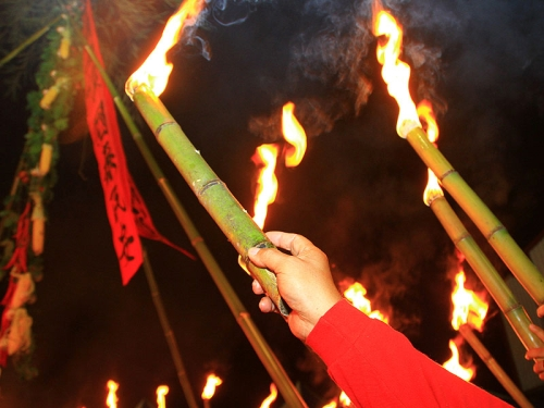 2012清境火把節將於10月26日登場。(攝影/范綱武)