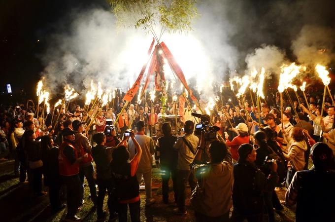 清境火把節象徵部落團結,薪火相傳(圖:清境旅遊資訊網提供)